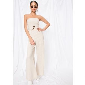 Superdown Margo Belted Jumpsuit